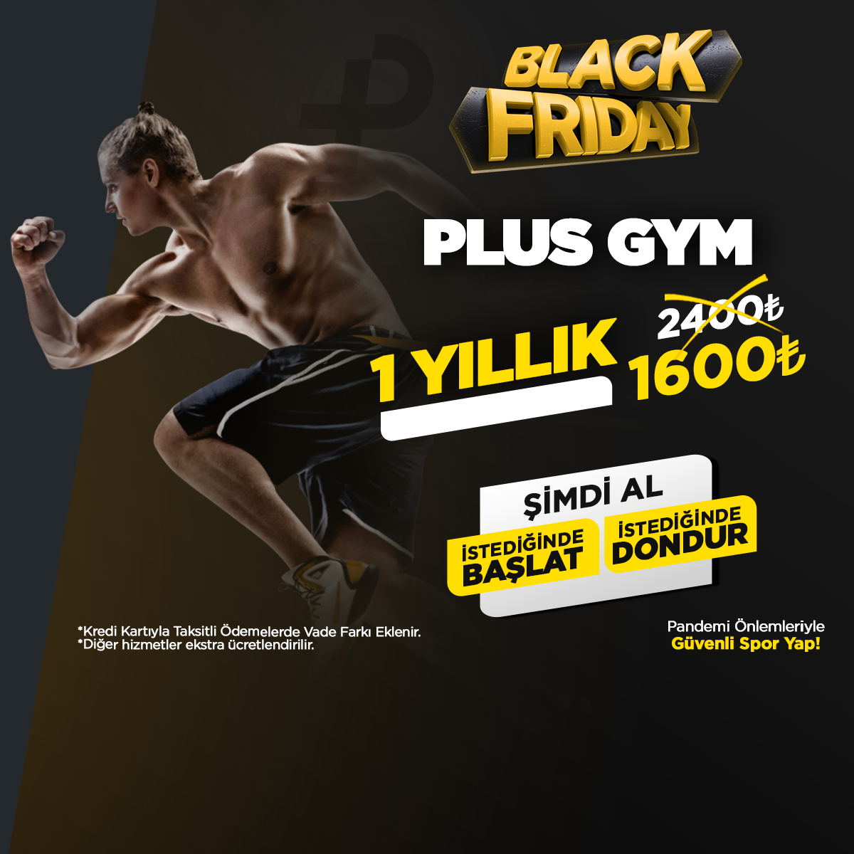 Black Friday Plus GYM